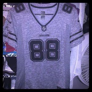 RARE Dez Bryant black and white jersey